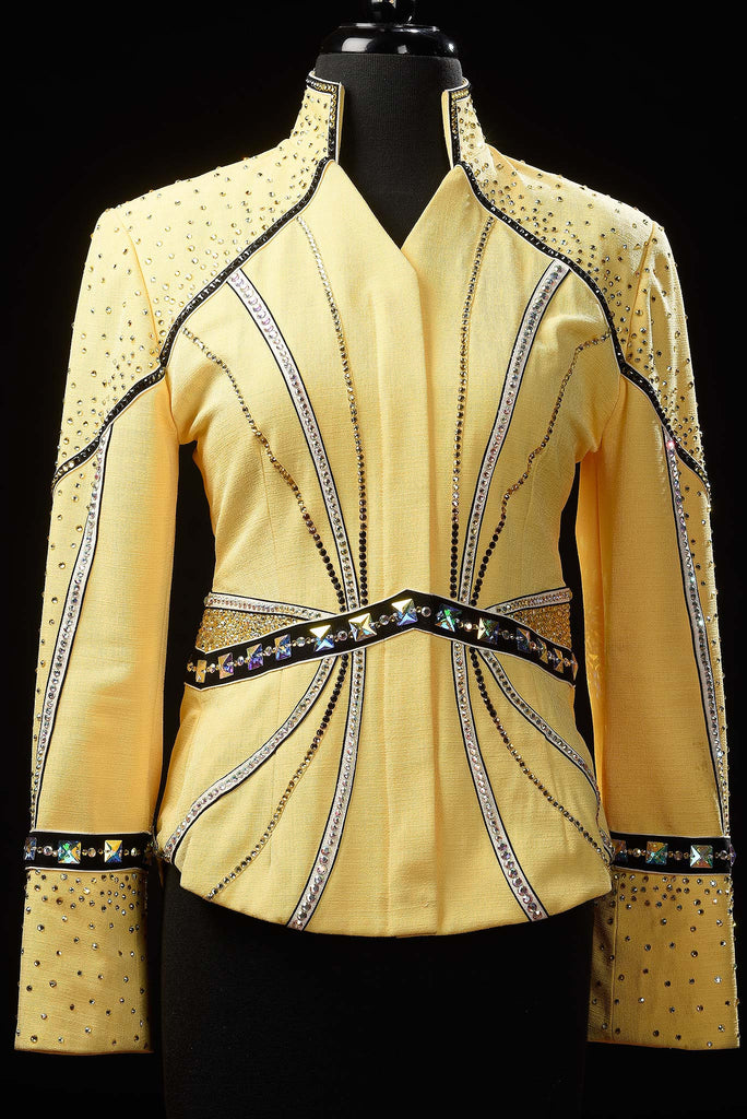 Yellow Showmanship Outfit Ladies M, 1642AB