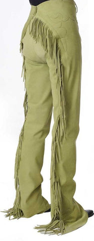 Cinder Gray Ultrasuede Chaps, Ladies XS, 1765A