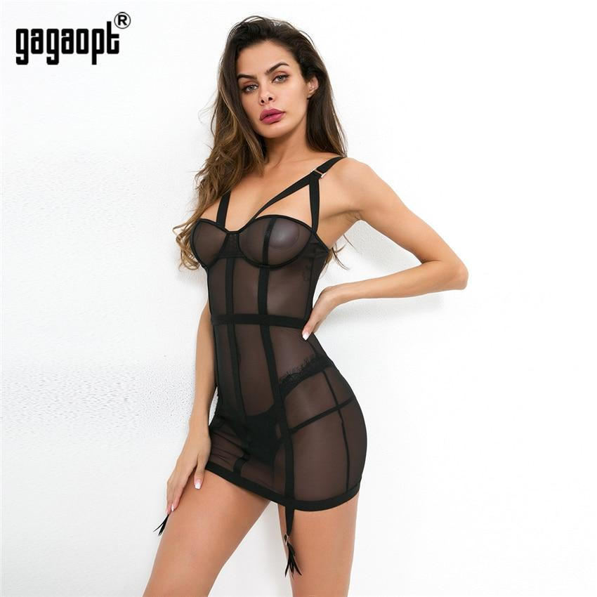 Transparentes Bodycon Kleid