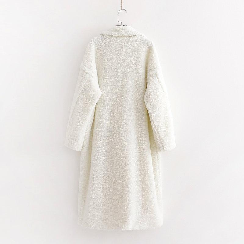 Oversize Teddy Coat