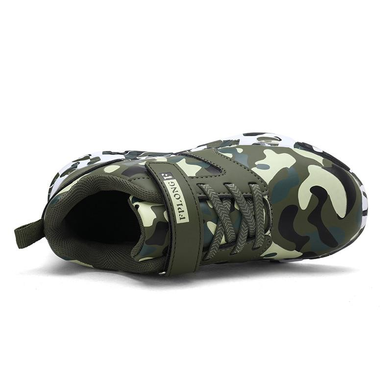 Sneakers with Military Pattern