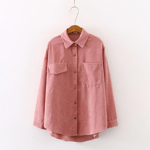 Long Sleeve Shirt with Button