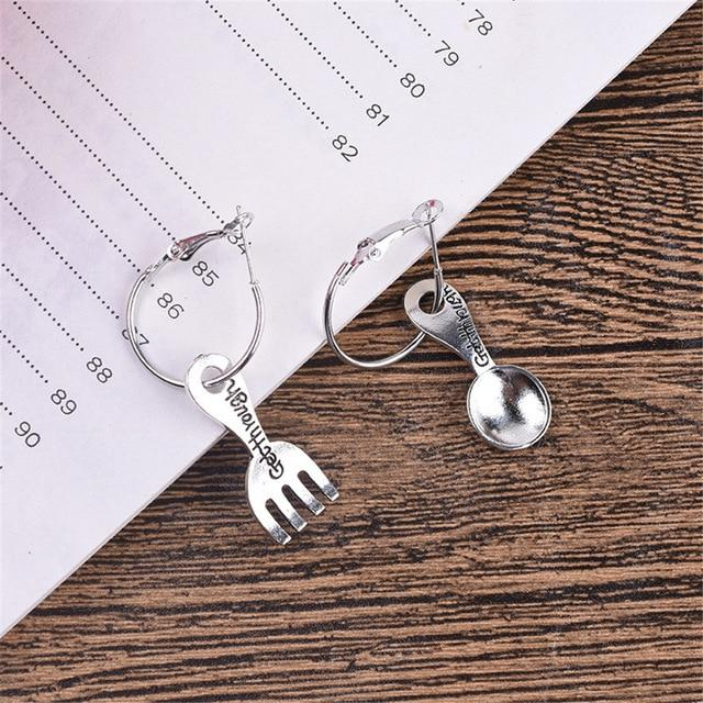 Creativity Earrings in Silver