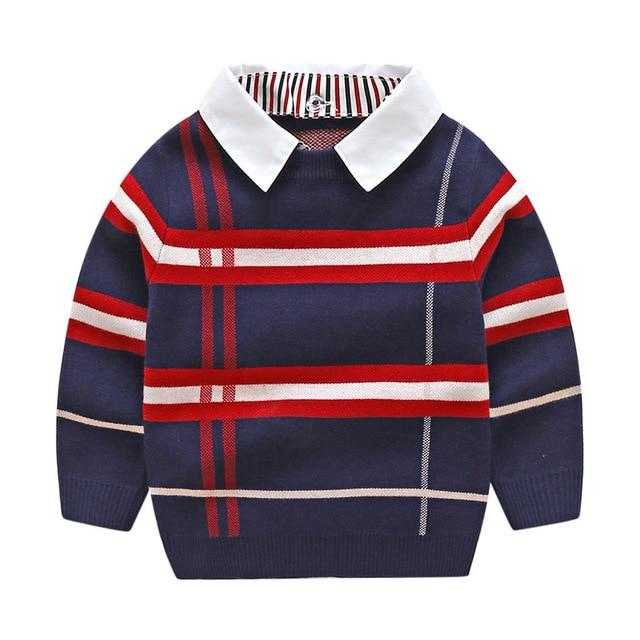 Knitted Sweater with Long Sleeve for 6-7 Years