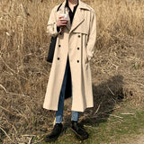 Mid-Length Trench Coat