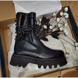 Comfortable Leather Boots in PU