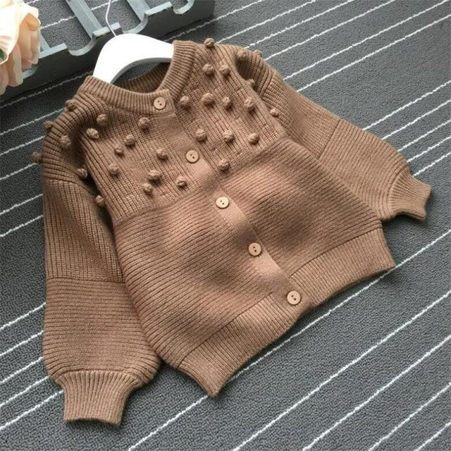 Knitted Cardigan for 6-9 Years