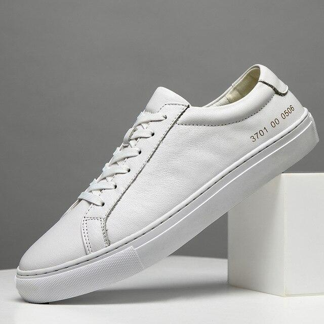 Genuine Leather Sneaker