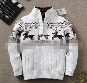 Knitted Sweater for 6-10 Years