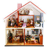 Pre-Assembled Display Dollhouse