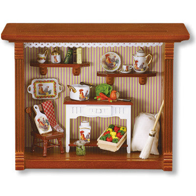 Kitchen Room Shadowbox