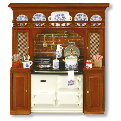 Blue Onion Aga Stove Display