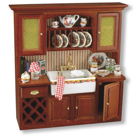 Rooster Sink Cabinet