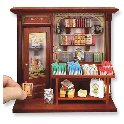 Complete Book Shop Shadow Box Display