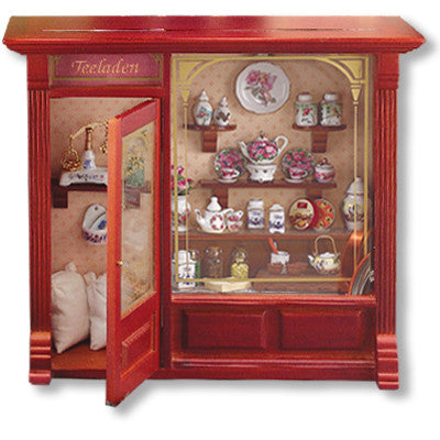 Tea Shop Shadowbox