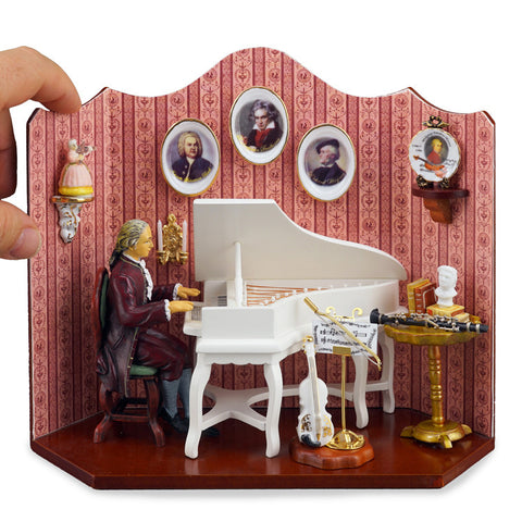 Composer's Music Room Vignette