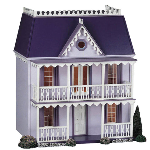 Lilliput Plum Pudding Dollhouse Kit Smooth Plywood & Stucco