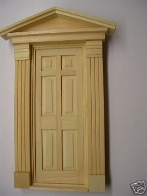Wondrous Federal Style Exterior Doors The Magical Dollhouse Door Handles Collection Olytizonderlifede