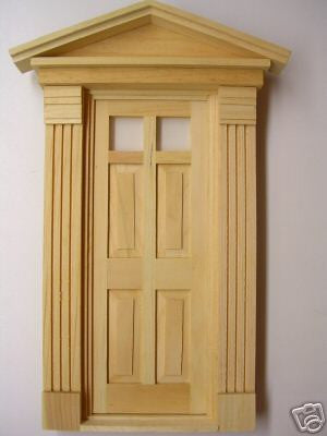 Federal Style Exterior Doors