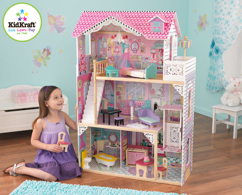 Annabelle Dollhouse With Furniture; Annabelle Dollhouse With Furniture ...