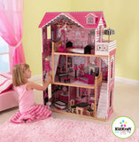 Amelia Dollhouse with Furniture