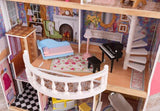 Magnolia Mansion Dollhouse with Furniture