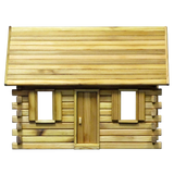 Lakeside Retreat Log Cabin Dollhouse Kit