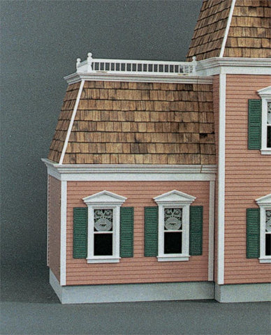 Front Opening Federal Addition (Lt. or Rt.) Dollhouse Kit