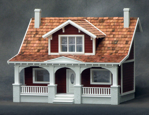1 2 Inch Scale Classic Bungalow Dollhouse Kit The