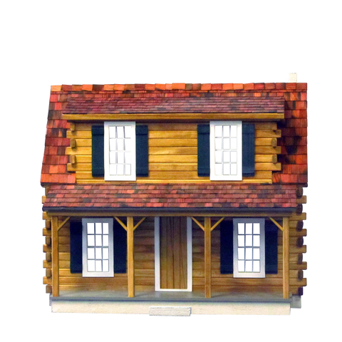 Adirondack Log Cabin Dollhouse Kit