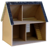1 inch Scale Keeper's House Dollhouse Kit