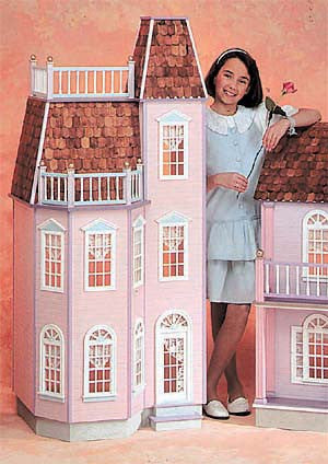 Barbie Scale Victorian Town House Dollhouse Kit