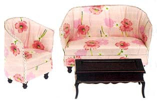"""Ophelia"" Living Room Set"