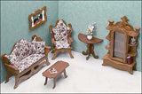 Full House of Dollhouse Furniture kits