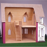 The Vineyard Cottage Dollhouse Kit