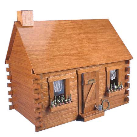 Donation of a Shady Brook Cabin Dollhouse Kit