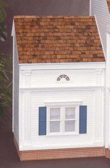 Greek Revival Addition (Lt. or Rt.) Dollhouse Kit
