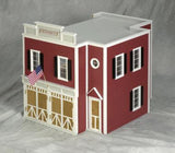 Firehouse Unfinished Dollhouse Kit
