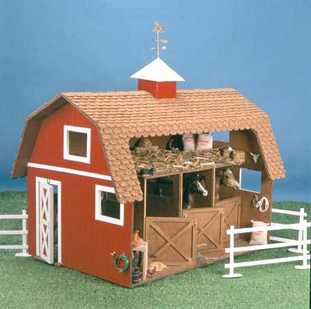 The  Wildwood Stable Dollhouse  Kit
