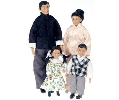 Asian Family Dolls