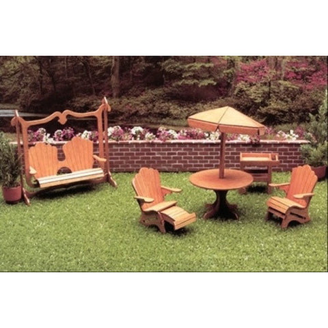 Dollhouse Patio Furniture Kit