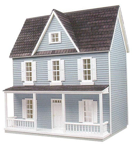 "1/2"" Scale Farmhouse Dollhouse Kit"