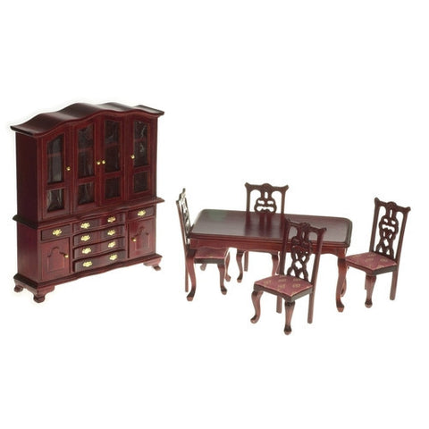 Mahogany & Rose Dining Room of 6