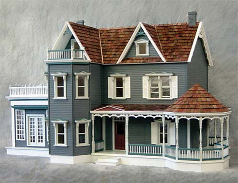 Harborside Mansion Dollhouse Kit