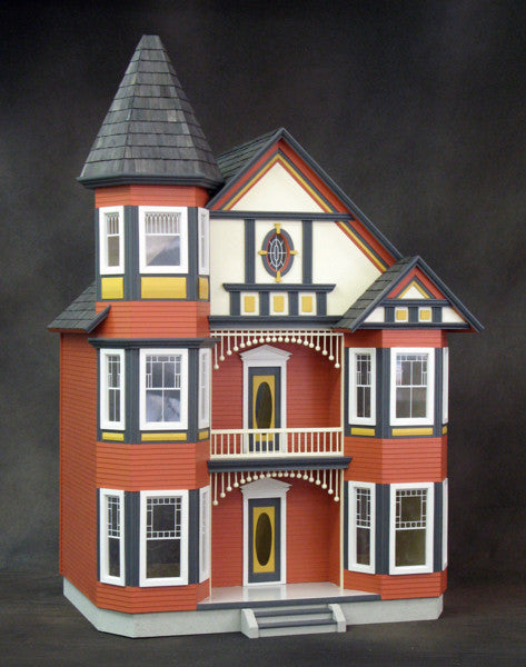 The Painted Lady Dollhouse Kit The Magical Dollhouse