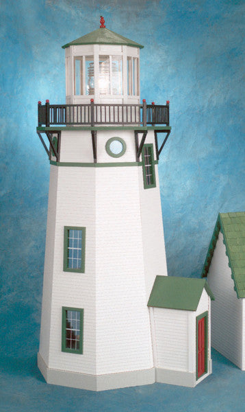 New England Electric Lighthouse Dollhouse Kit The