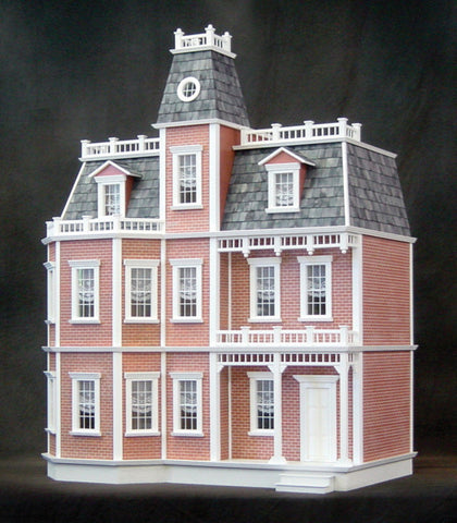 Newport in Brick Dollhouse Kit