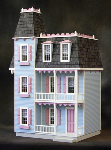 Alison jr dollhouse kit the magical dollhouse for Dollhouse mural