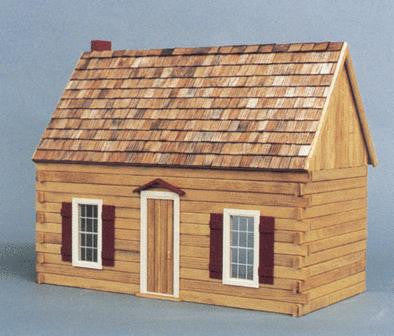 Blue Ridge Cabin Dollhouse Kit
