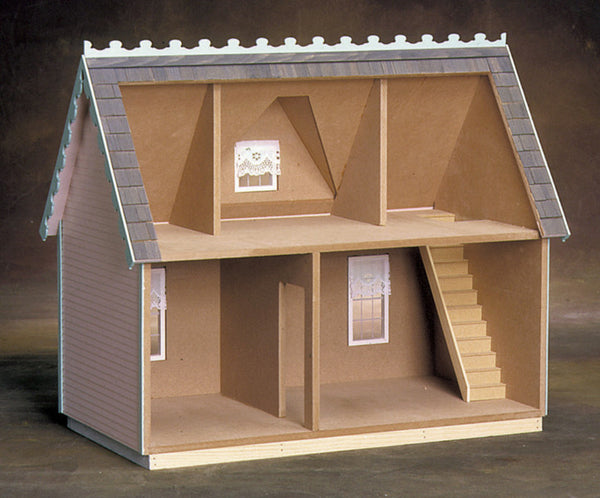 Victorian Cottage Jr Dollhouse Kit The Magical Dollhouse